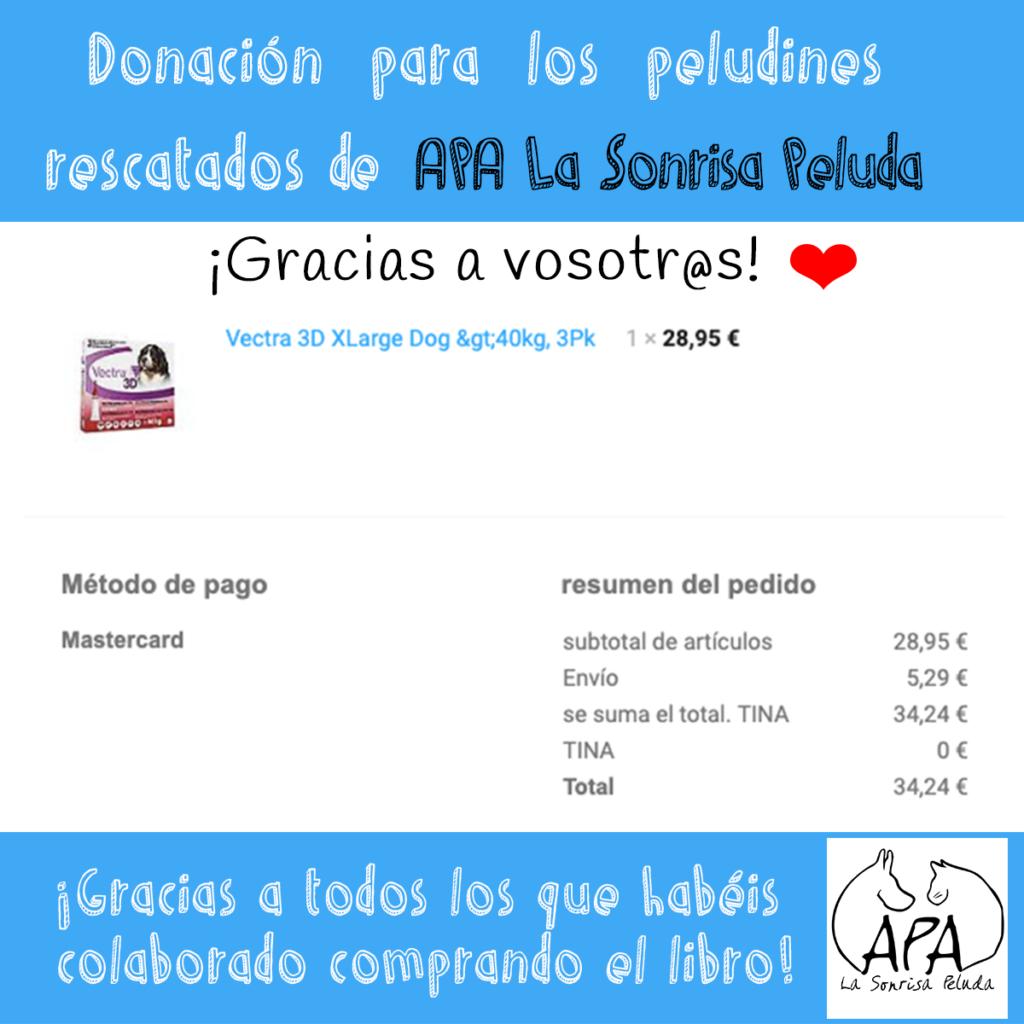 Donación APA la sonrisa peluda 1