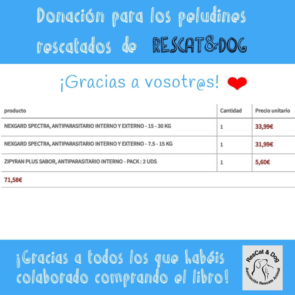 Donación para RESCAT&DOG